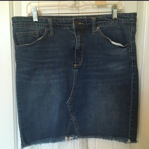 Universal Threads denim skirt